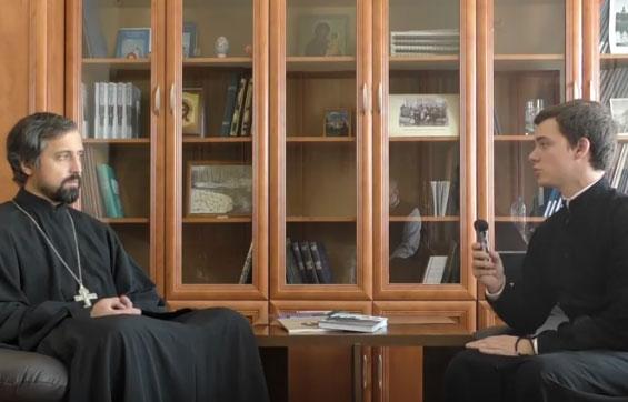 Беседа с проректором по научной работе ПДС священником Германом Демидовым